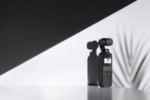 プロの撮影技術を手のひらに【OSMO Pocket】外観編