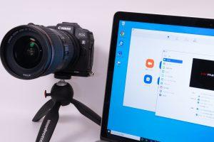ミラーレス一眼をWebカメラとして使ってみよう【EOS Webcam Utility Beta】