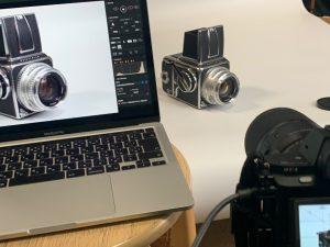 Apple M1 MacBookProでテザー撮影してみた